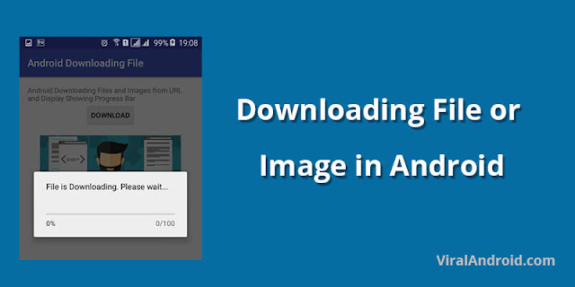 Downloading File or Image and Displaying in Android