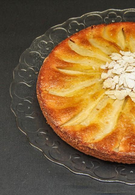 Pear Polenta Cake