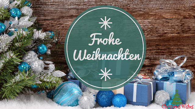frohe weihnachts