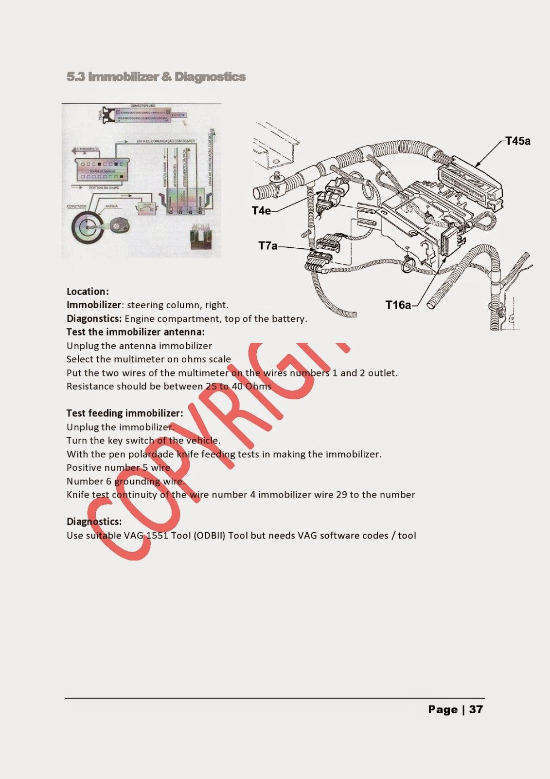 Brazilian Kombi Technical Service Manual