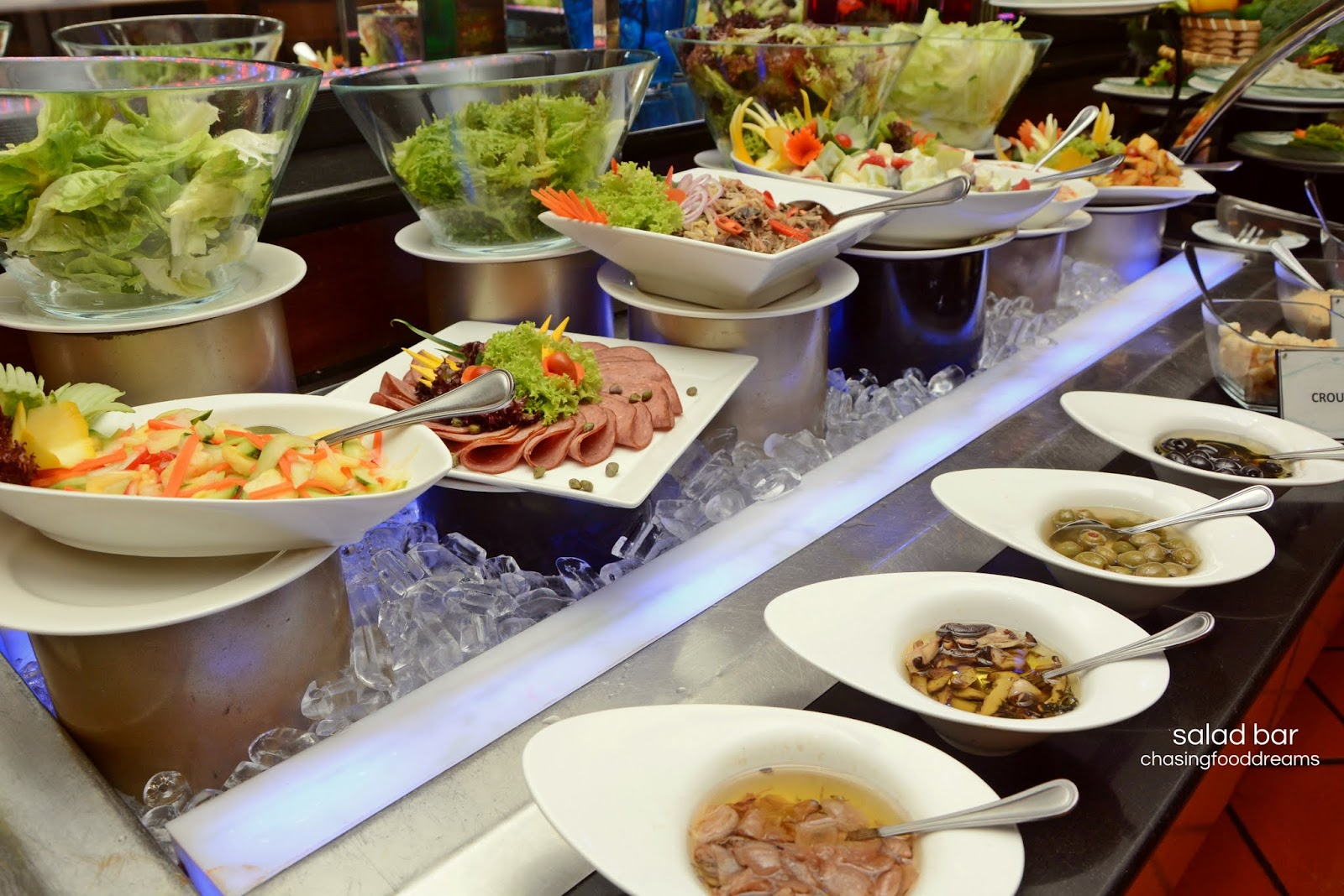 Chasing Food Dreams Weekend Hi Tea Dondang Sayang Corus Hotel  # Buffet Blanc Style New York