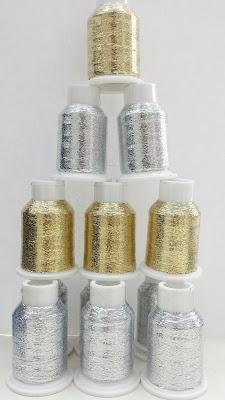glitter para tejer lana e hilo con brillo