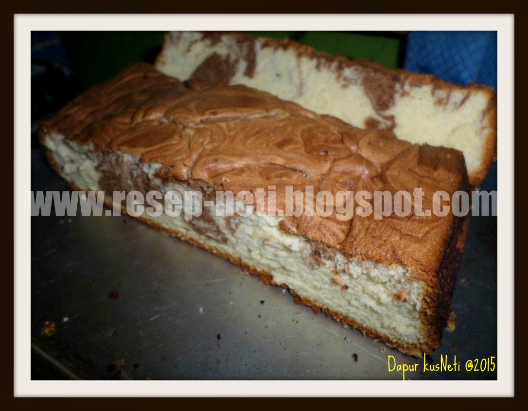 Marble cake simple recipe in kusNeti kitchen @2015