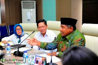 Bahas PP dan PA, Komisi VII DPR RI Kujungi Sumsel