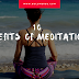 10 Benefits of Meditation: What You're Missing Out On