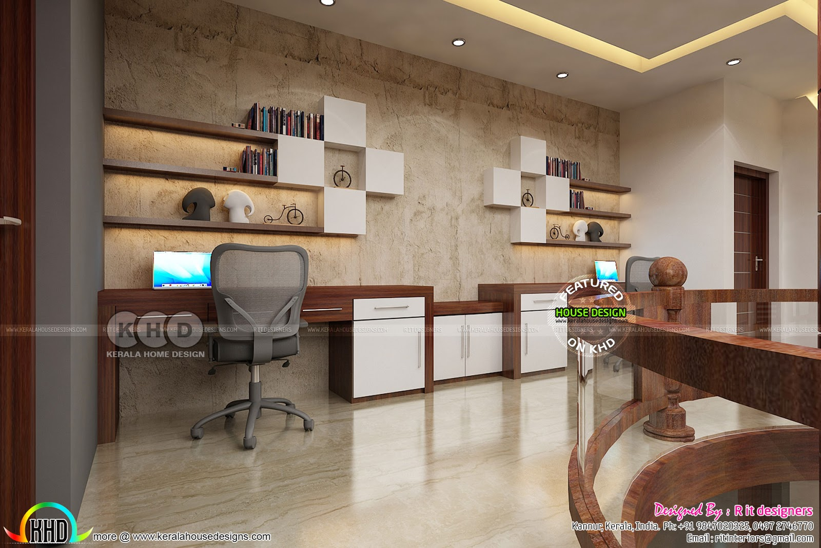 Upper Floor Interior Designs By Rit Interiors