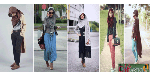 Trend Hijab Style