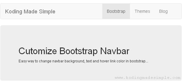 customize-bootstrap-default-navbar
