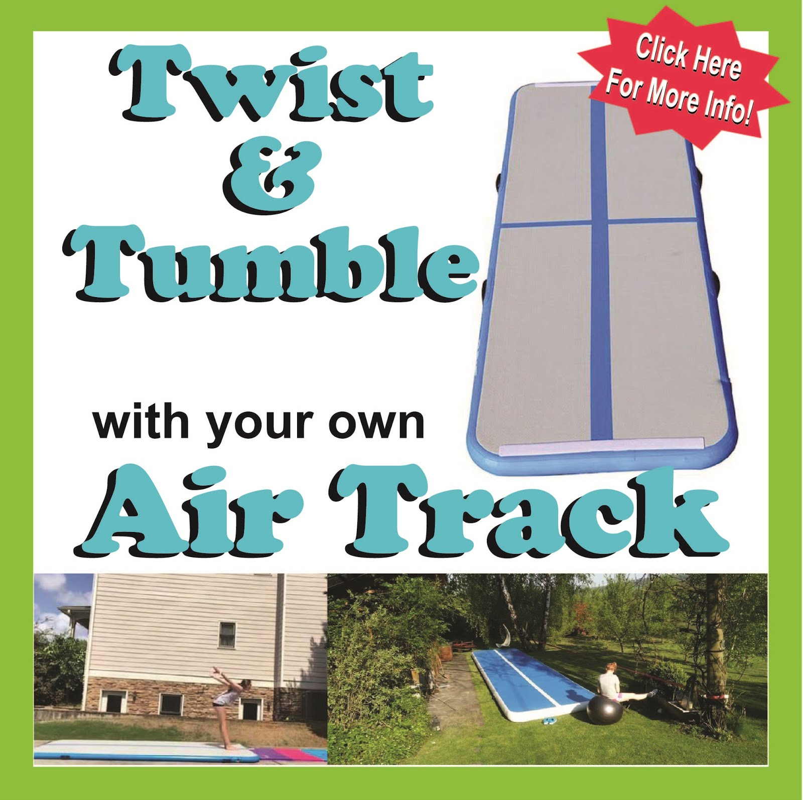 TWIST & TUMBLE with Air Track