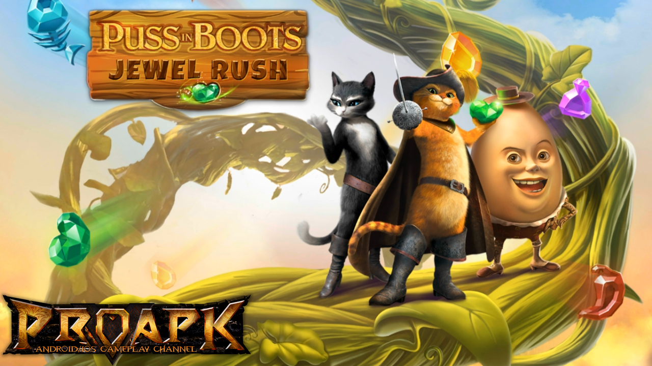 Puss In Boots Jewel Rush
