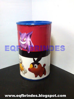 Cofrinho Pokemon, lembrancinha pokemon, brinde pokemon, festa pokemon, tema pokemon