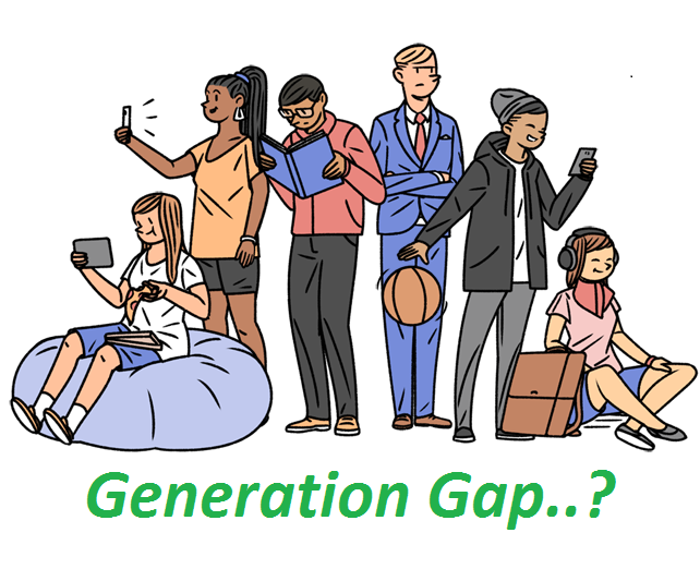 Life Learning by 365 words : Generation Gap
