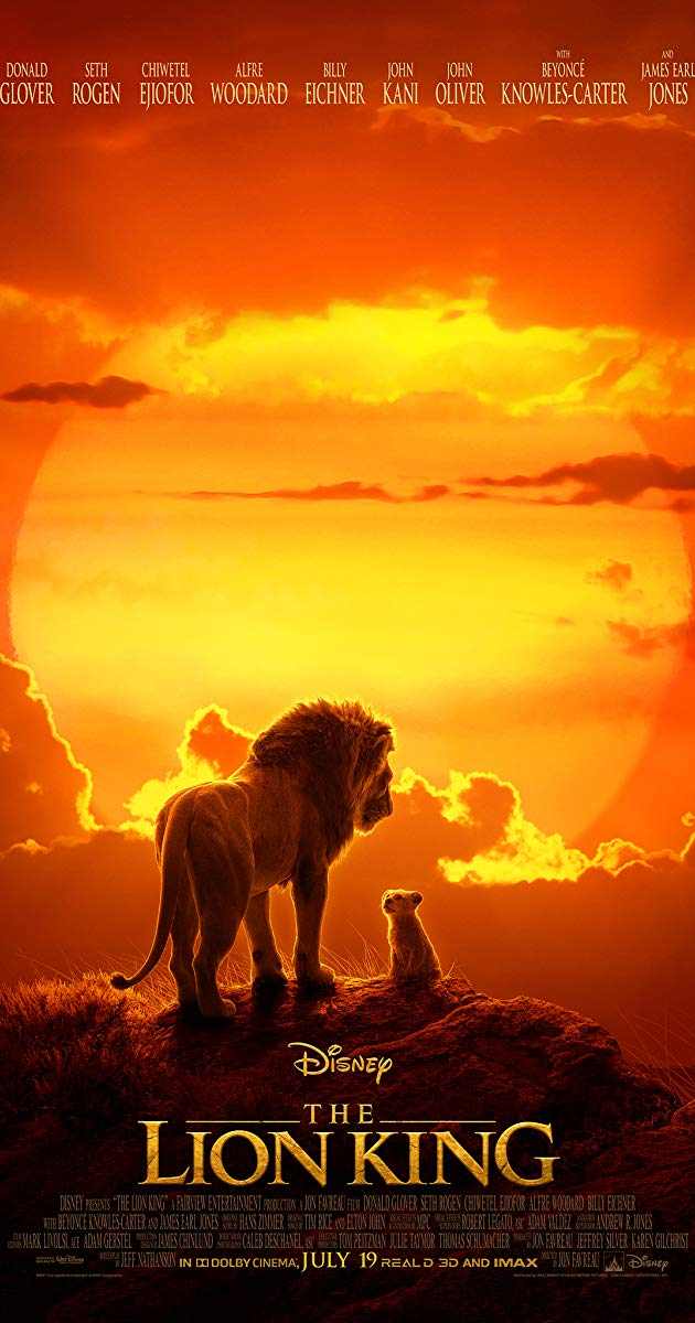 [Movie] The Lion King (2019) HD