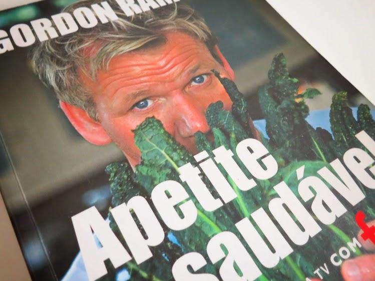Livro: Apetite Saudável de Gordon Ramsay