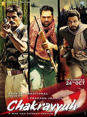 Poster Of Bollywood Movie Chakravyuh (2012) 300MB Compressed Small Size Pc Movie Free Download worldfree4u.com