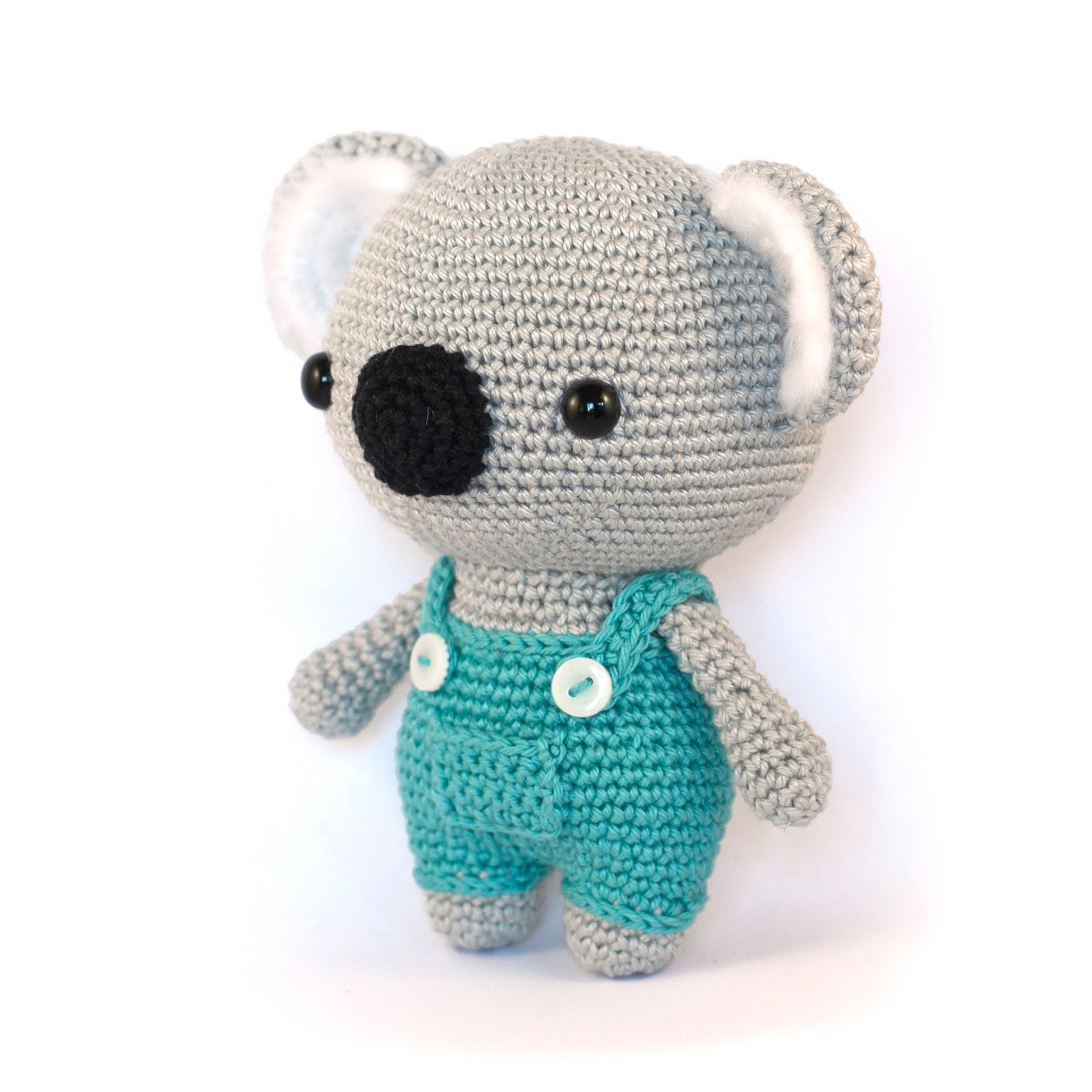 Amigurumi Koala Tutorial : Toy Patterns by DIY Fluffies : Koala amigurumi pattern