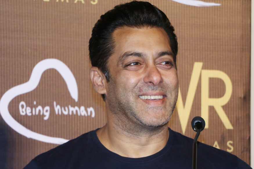 Salman Khan Spotted at PVR Phoenix In Mumbai