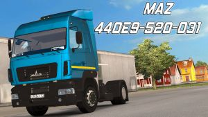 MAZ 5440E9-520-031 truck standalone updated