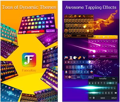 FancyKey Pro is one of the best keyboard app that I have used. It has all the features that I need