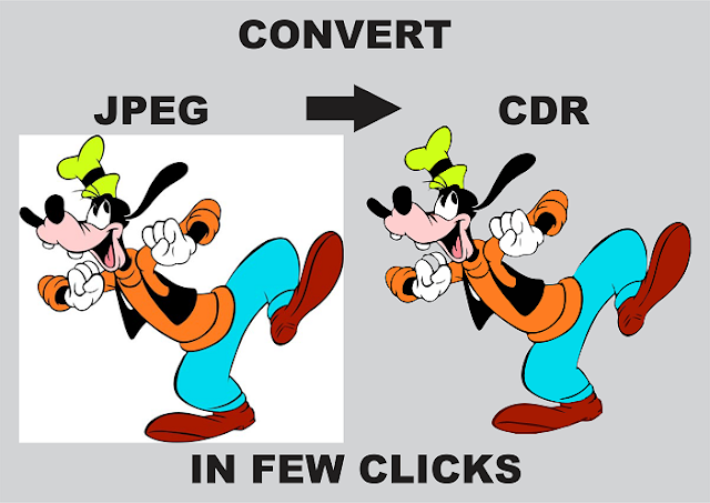 HOW TO CONVERT JPEG TO CDR IN FEW CLICKS