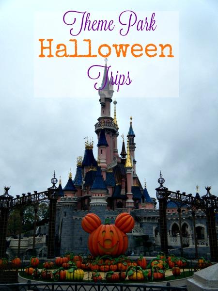 Theme Park Halloween Trips