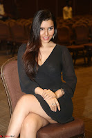 Kyra Dutta in black At Rogue Movie Audio Launch ~  042.JPG