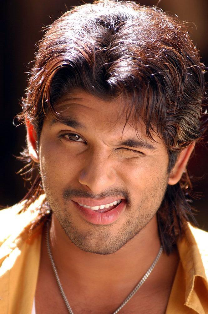 Film Stars Allu Arjun