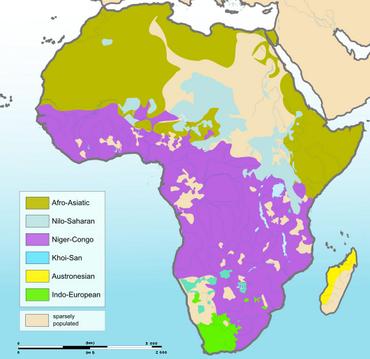 Afrika'da Konuşulan Diller. Afrika'da Hangi Diller Var. Afrikalıların Dilleri