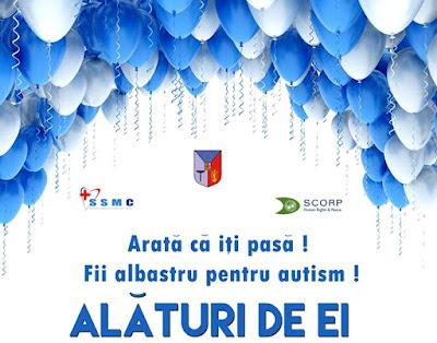 #AlbastruPentruAutism - 2 Aprilie