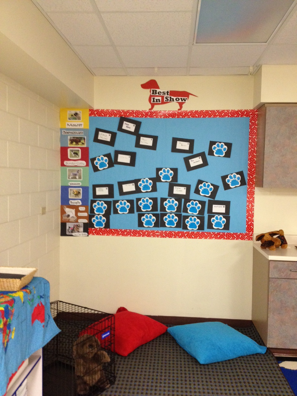 And How Are The Children Dog Theme Classroom Reading Corner