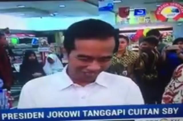 Saat Jokowi Jawab Cuitan Baper SBY , Ada yang Fokus Lihat Menteri Nyanyi di Belakang