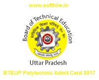 BTEUP Polytechnic Admit Card