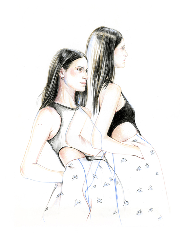 14-Caroline-Andrieu-Fashion-Shows-Distilled-into-Drawing-Portraits-www-designstack-co