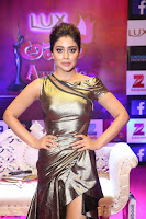 Shreya Saran in Skin Tight Golden Gown ~  Exclusive 018.JPG