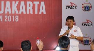 Persija Bantah Ingin Laga Lawan Persib Bandung Ditunda