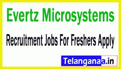 Evertz Microsystems Recruitment Jobs For Freshers Apply
