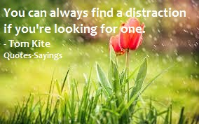 quotes on distraction
