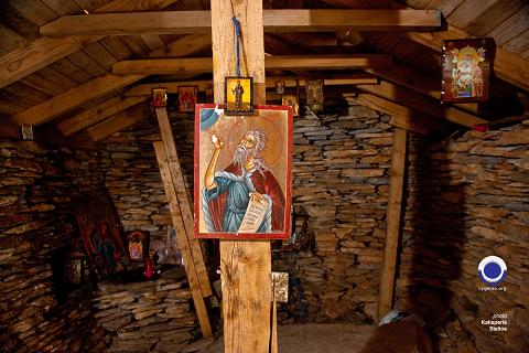 Εικόνες πάνω στο ξύλο Τα βουνά της θάλασσας Ν. Λυγερός