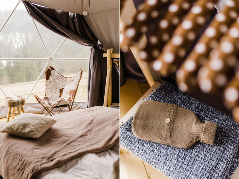 Luxury glamping in the Tatra Mountains