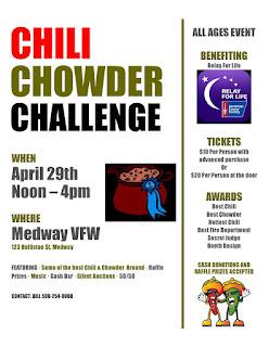 Chili & Chowder Challenge - April 29