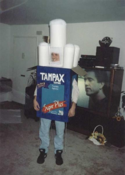 T&ax t&on Halloween costume  sc 1 st  Costumaniacs & Costumaniacs: Box Of Tampons Costume
