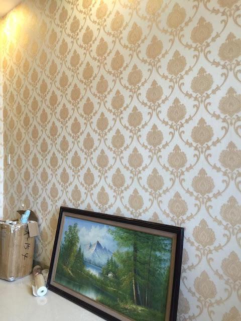 giấy dán tường cổ điển