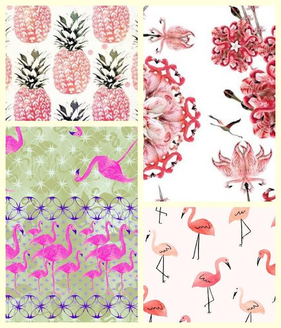 Flamingos para decoração