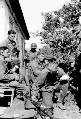 Stabswache de Euros: ϟϟ-Grenadiers during the Blitzkrieg
