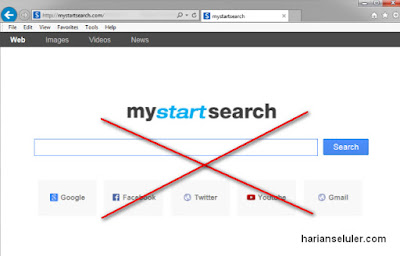 Cara Menghapus My Start Search dari Browser
