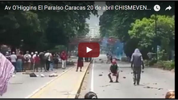 Cientos de guardias armados acorralan a vecinos de El Paraíso