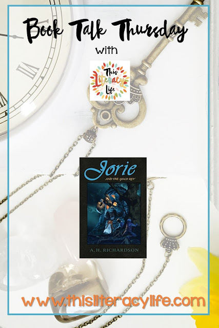 Jorie and Rufus must return to the land of Cabrynthius in the book Jorie and the Gold Key. Find out why and what they must do!