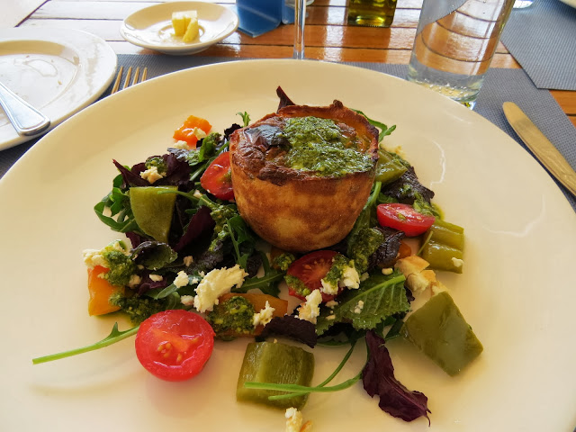 Salad at Solms Delta Winery in Franschhoek in South Africa