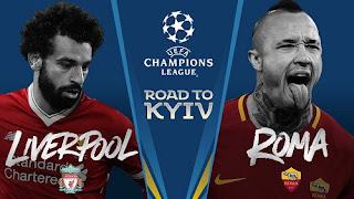 مشاهدة مباراة روما و ليفربول في إياب نصف نهائي دوري أبطال أوروبا 02-05-2018
