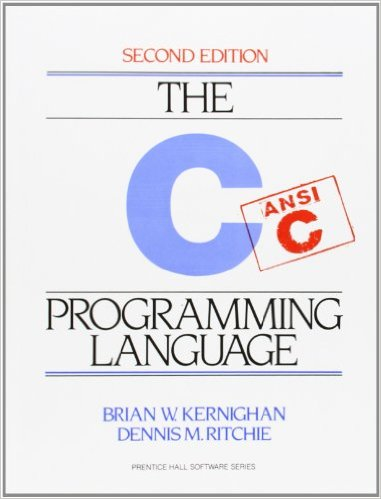 The C Programming Language front cover